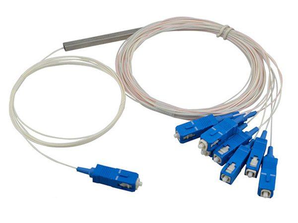 1-to-8 Steel Tube PLC Splitter